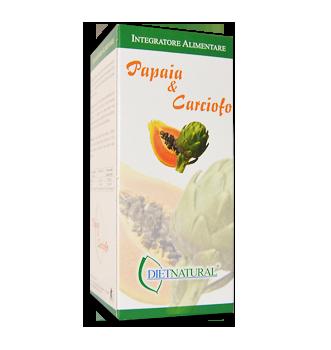 Integratore alimentare dietnatural papaia e carciofo